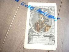 HENRI IV ROI DE FRANCE ET DE NAVARE GRAVURE ORIGINALE DU 17° SIECLE