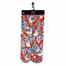 ODD SOX ren and stimpy BUY 3 GET 1 PAIR FREE pop culture socks adult sizes 6-13