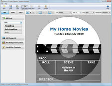 Disketch Pro CD DVD Disc Label Software from NCH