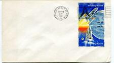 1981 Kennedy Space Center Shuttle Benefits Earth Mankind USA 18c NASA SPACE