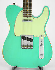 Fender Custom Shop 1960 Telecaster Custom Relic in Seafoam Green w/ Plum Sides
