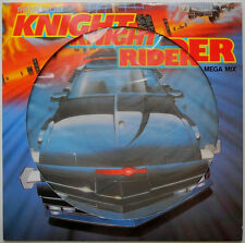 "★★12""DE**LASER-COWBOYS -THEME FROM KNIGHT RIDER (MEGA MIX) (PICTURE-DISC)★★23518"