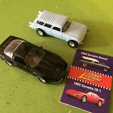 Corvette 1995 ZR-1 1954 Nomad Johnny Lightning c1996 Vette Playing Mantis