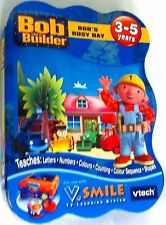Vtech V.Smile Bob The Builder Bob's Busy Day Game Cartridge 3-5years TV Learning