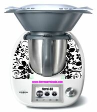 Thermomix TM5 Sticker Decal  (Code: Floral 83)