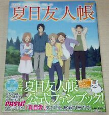 Natsume's Book of Friends Art Book Pash! Animation File 10 Anime Manga Yujin-Cho
