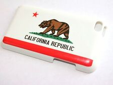 iPod Touch 4th Gen - HARD SNAP ON PROTECTOR CASE COVER CA CALIFORNIA FLAG BEAR