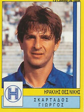 N°142 IRAKLIS THESSALONIKI GREECE PANINI GREEK LEAGUE FOOT 95 STICKER 1995