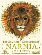 The Complete Chronicles of Narnia C. S . LEWIS New Hardback Book Colourd