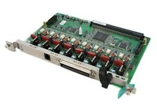 Panasonic KX-TDA0180e 8 Port Ana Card with Warranty inc VAT & FREE DELIVERY 0180