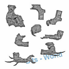 WARHAMMER BITS: SKAVEN HELL PIT ABOMINATION - FRONT LEGS WITH TERRAIN