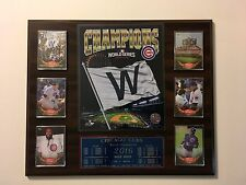Chicago Cubs 2016 World Series  Plaque