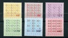 Curacao 2016 MNH Numbers 6v Set Mathematics Maths Stamps
