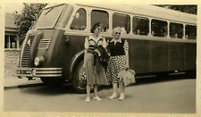 PHOTO ANCIENNE - VINTAGE SNAPSHOT - BUS CAR AUTOCAR BERLIET EXCURSION - TRUCK