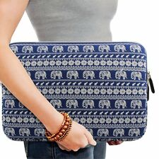 "KAMOR 15.6"" Canvas Fabric Laptop Sleeve Case Bag Skin Cover /Notebook Briefcase"