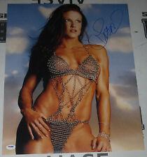 Lita Signed WWE 16x20 Photo PSA/DNA COA Pro Wrestling Diva Picture Autograph HOT