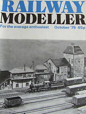 RAILWAY MODELLER MAGAZINE OCT 1979 WHERWELL CORFE VIADUCT ASHILL BOW-ROAD SIGNAL