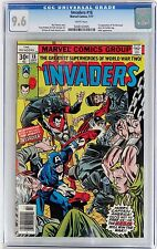 THE INVADERS #18 (Marvel 1977) CGC 9.6 NM+ ADOLPH HITLER 1st app DESTROYER WHITE