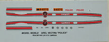 005:  Decal Satz  Luxemburger Police  (Polizei))