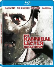 HANNIBAL LECTER COLLECTION (MANHUNTER SILENCE OF THE LAMBS HANNIBAL) BLU RAY SET