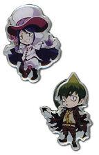 Blue Exorcist Mephisto and Amaimon 2 Pin Set Licensed Anime Manga NEW