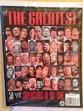 WWE MAGAZINE THE GREATEST 50 WWE SUPERSTARS OF ALL TIME MARCH 2004 WRESTLING