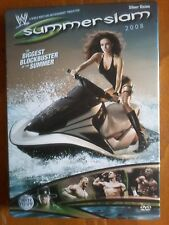 WWE SUMMERSLAM 2008 - UK REGION 2 DVD STEELBOOK