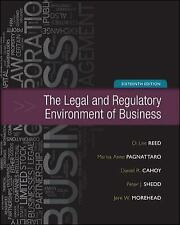 The Legal and Regulatory Environment of Business by Peter J. Shedd, Daniel R. Ca