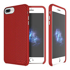 "Prodigee Breeze Red iPhone 7 PLUS 5.5"" Dual Layer Thin Case Slim Cover"