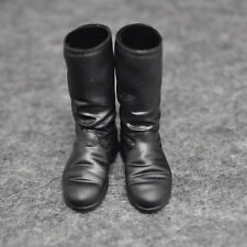 1/6 scale Kumik Female Black Hight Lowa Zephyr Military Combat boots shoes S22