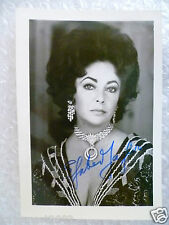 Elizabeth Taylor Signed Photo (Signature is Original*)