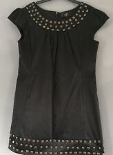 AX PARIS STUDDED SHIFT DRESS SIZE 12