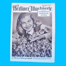 NBI 15/1955 DDR - Paris Groß-Ziethen Ungarn Sixtinische Madonna Ostern