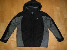 Herren Winter Jacke Outdoor Sportwear Kapuze NIKE Gr M 48 50 schwarz Top neuwert