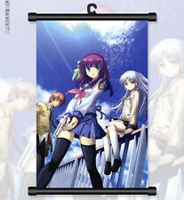 "Japan Anime Angel Beats! Cosplay Home Decor Wall Poster Scroll 8""x12"" 01"