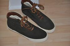 "New Polo Ralph Lauren Men´s ""Zale"" Suede High-Top Sneakers shoes  size 9 D"