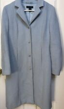 The Limited Blue, Long Wool & Mohair Coat - Size M