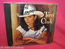 Terri Clark Self Titled CD 1995 PolyGram Records SIGNED on Front Booklet