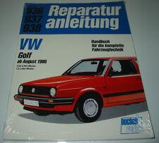 Reparaturanleitung VW Golf II Typ 19E 1,05 / 1,3 Liter ab August 1986 NEU!