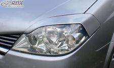 RDX Scheinwerferblenden Nissan Primera P12 2002-2007 Böser Blick Eintragungsfrei
