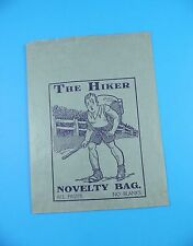 c1940's Lucky Bag / Novelty Bag / Jamboree- Original & Unused - The Hiker
