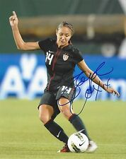 STEPH STEPHANIE COX AUTOGRAPH SIGNED 8X10 PHOTO USWNT USA SEATTLE REIGN FC COA