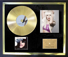 LADY GAGA THE FAME   PHOTO CD GOLD DISC FREE POSTAGE!!