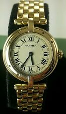 18k SOLID Cartier Panther Vendome Retro Ladies watch Mint LOWEST ON EBAY