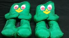 EUC Vintage Gumby Slippers RARE