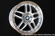 "5er BMW E39 M Package ALLIAGE Rayons doubles 71 JANTE 17"" ROUE JANTE RUOTA RUEDA"