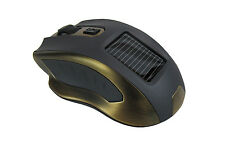 Solar Portable Optical Silent Quiet Wireless Mouse Optical Rechargeable 2.4GHz
