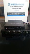 Old Skool Vintage SET  PIONEER CAR EQUALIZER EQ 6500 EQ-6500 + CROSSOVER CD-625