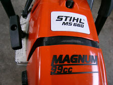 "STIHL MS660 066 CUSTOM ""MAGNUM 99cc"" LETTERING AIR FILTER ID (FOR 56MM BIG BORE)"