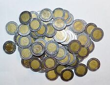 MEXICO lot BIMETALLIC 1 PESO unsearched world snake 25 coins